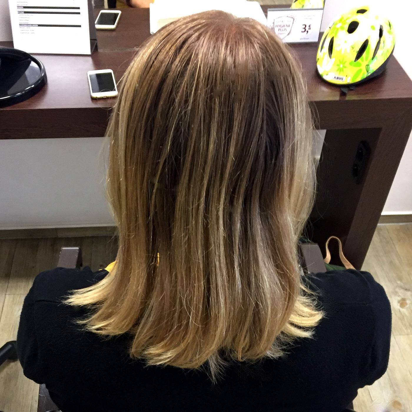 In blonde dunkelblondem haar strähnen 15 Frisuren
